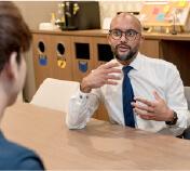 英語コーチングスクール「トライズ」受講生の毎日の英語学習報告にフィードバック